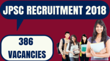 JPSC Recruitment 2018