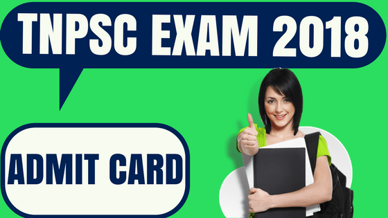 TNPSC Admit Card