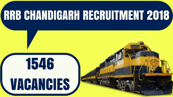 RRB Chandigarh Recruitment