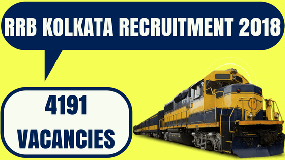 RRB Kolkata Recruitment