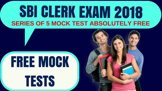 SBI Clerk Free Mock Test