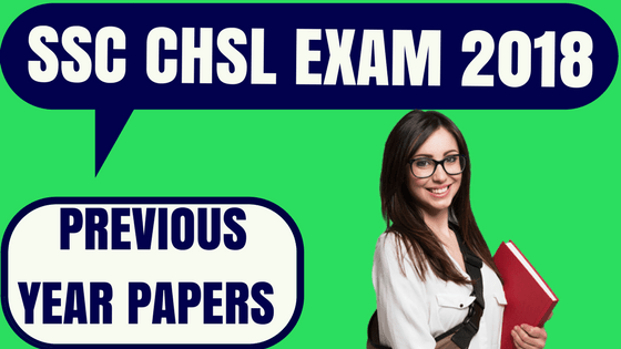 SSC CHSL Previous Year Papers