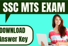 SSC MTS Answer Key