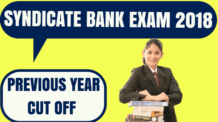 Syndicate Bank Cut Off