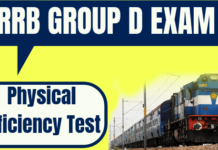 Railway Group D Physical Efficiency Test