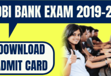 IDBI Bank Admit Card