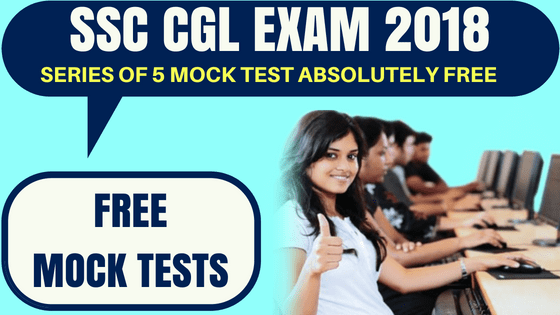 SSC CGL FREE Mock Test