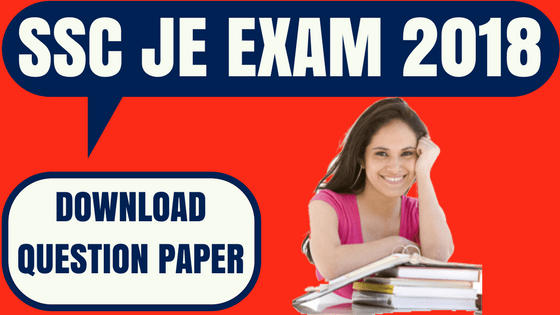 SSC JE Paper II Question Paper