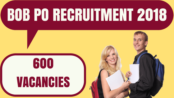 BOB PO Recruitment