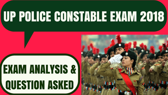 UP Police Constable Exam Analysis