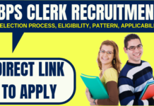 IBPS Clerk Recruitment