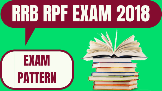 RPF Exam Pattern