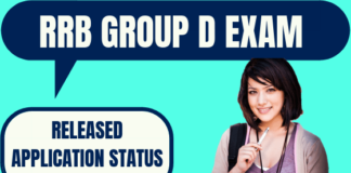 RRB Group D Application Status