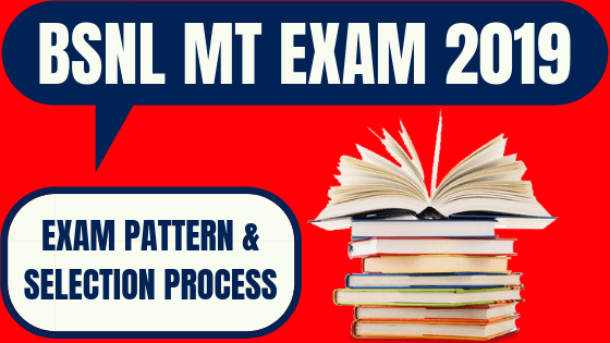 BSNL MT Exam Pattern