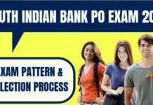 South Indian Bank Exam Pattern