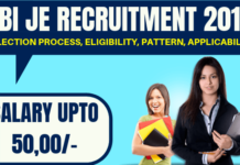 RBI JE Recruitment