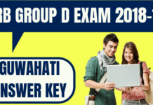 RRB Group D Guwahati Answer Key