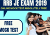 RRB JE Free Mock Test