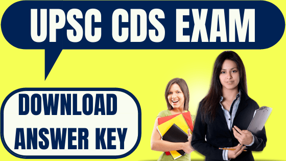 CDS I Answer Key