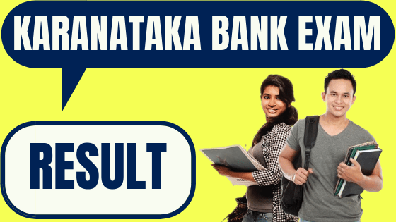 Karnataka Bank Result