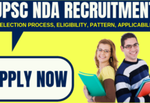 NDA Recruitment