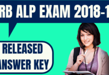 RRB ALP Answer Key