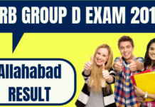 RRB Group D Allahabad Result