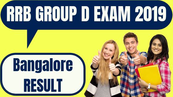 RRB Group D Bangalore Result