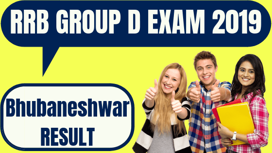 RRB Group D Bhubaneshwar Result
