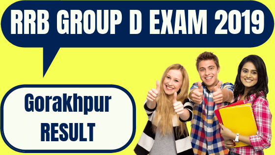 RRB Group D Gorakhpur Result