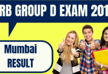 RRB Group D Mumbai Result