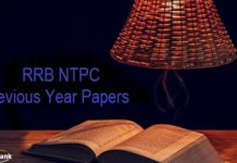 RRB NTPC Previous Year Papers Hindi