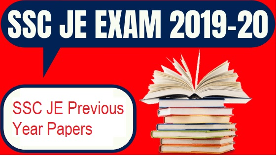 SSC JE Previous Year Question Papers - download pdf
