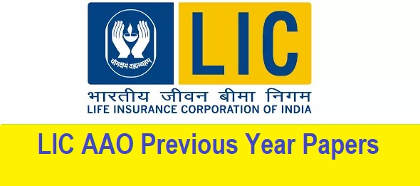 LIC AAO Previous Year Papers