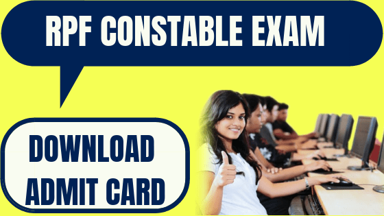 RPF Admit Card