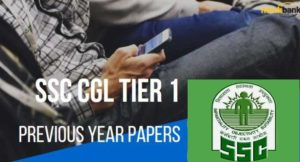 SSC CGL Previous Year Papers with Answer key
