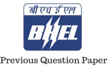 BHEL Previous Year Papers