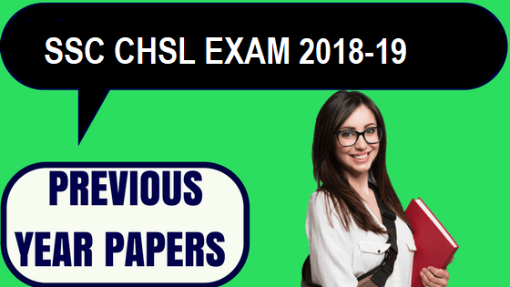 SSC CHSL Previous Year Papers Hindi