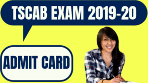 TSCAB Admit Card
