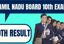 Tamil Nadu 10th Result
