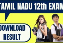 Tamil Nadu 12th Result