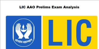 LIC AAO Prelims Exam Analysis