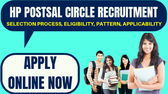 HP Postal Circle Recruitment