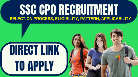 SSC CPO Recruitment