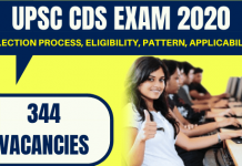 UPSC CDS Recruitment