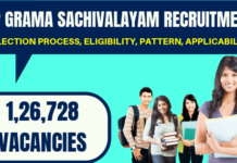 AP Grama Sachivalayam Recruitment
