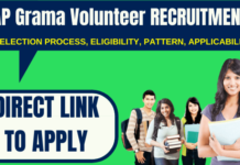 AP Grama Volunteer Recruitment