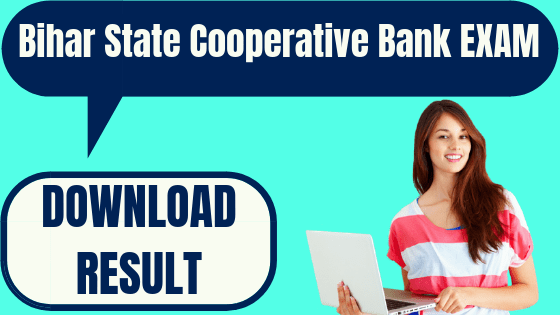 Bihar State Cooperative Bank Result
