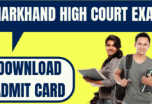 Jharkhand High Court Admit Card