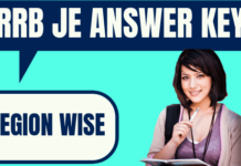RRB JE Answer Key